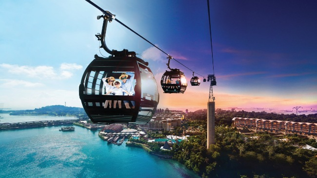 cable car ride singapore