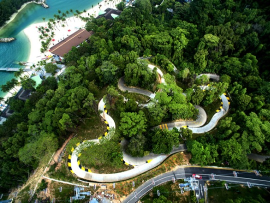 Skyline Luge Sentosa and Skyride