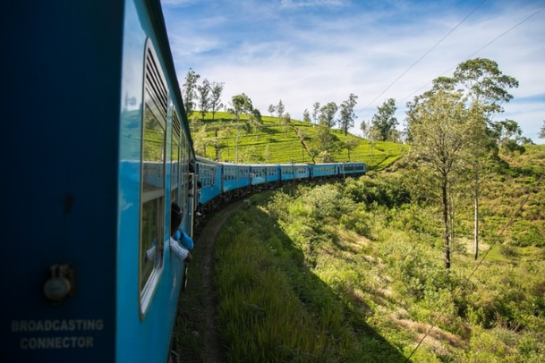 The train ride from Kandy – Ella