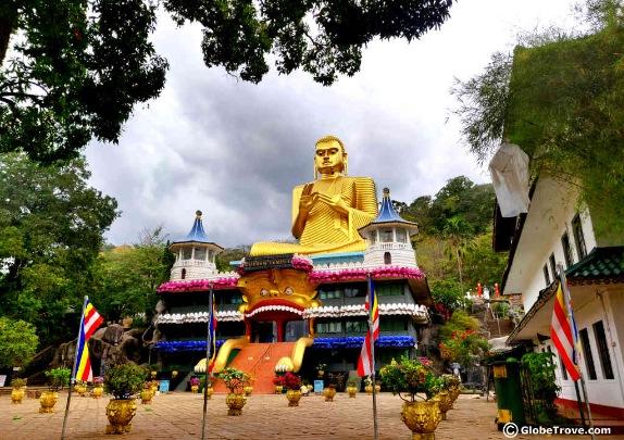 Dambulla Cave Temple Visit