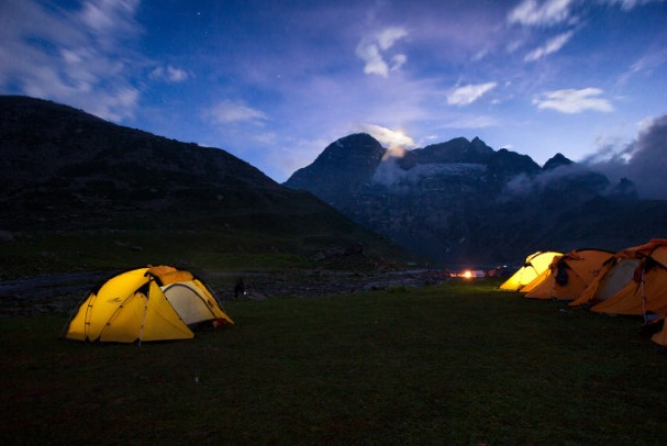Camping in Kashmir