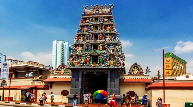 Seek blessings from Mariamman Temple