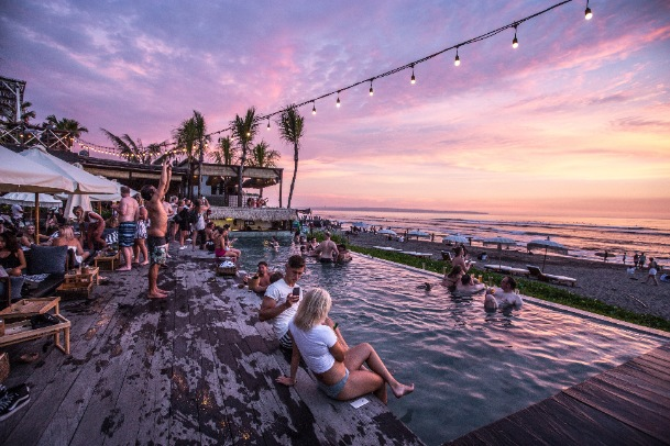 Have a wonderful weekend in the coastal town of Canggu