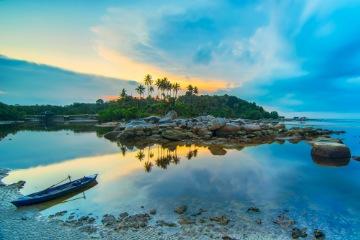 Arrival in Bintan Island