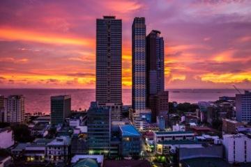 Manila departure