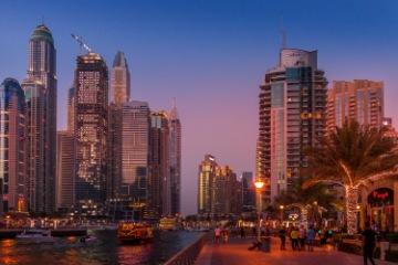 Dubai arrival