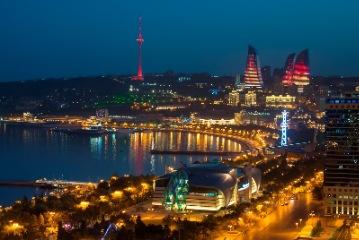 Baku arrival