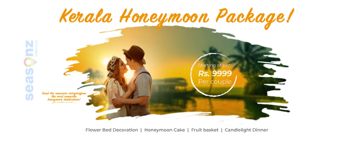 kerala honeymoon packages from seasonz india